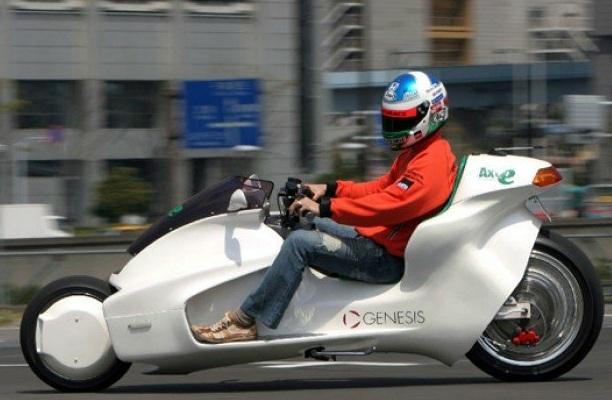Мотоцикл на электричестве, Мотоцикл на магнитах
