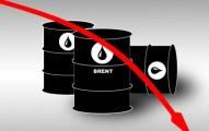 Цена нефти Brent упала ниже 50 долларов