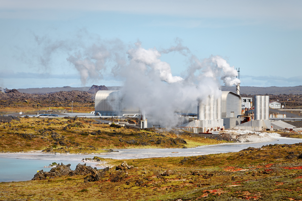 в основе работы геотермальных электростанций лежит использование