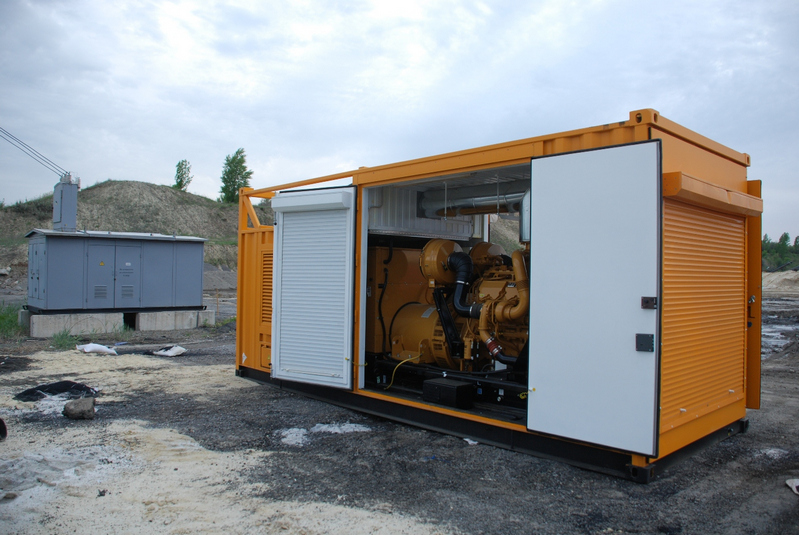 Дизельная электростанция в контейнере