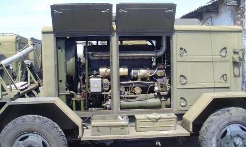 военные электростанции бензиновые