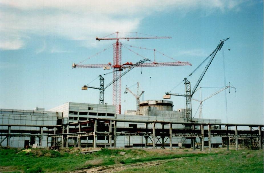 строительство Крымской аэс