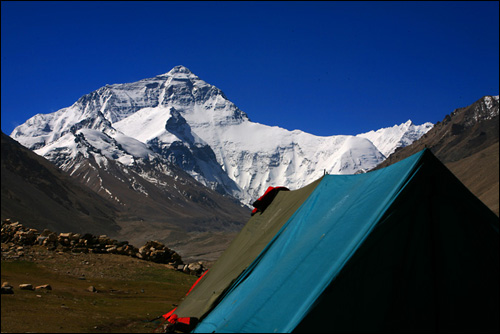 Высочайшая горная вершина земли на карте