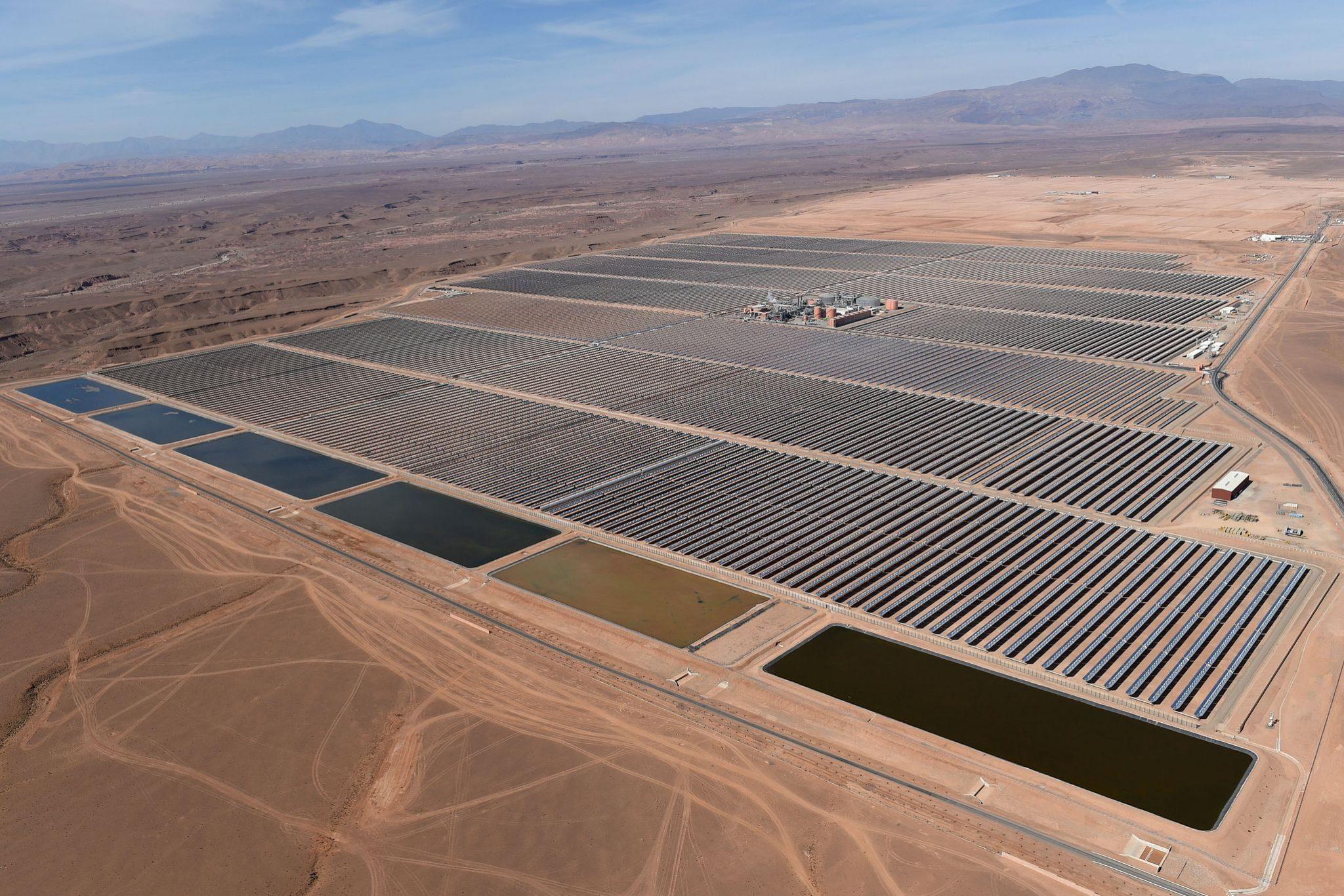 Самая большая солнечная электростанция в мире находиться