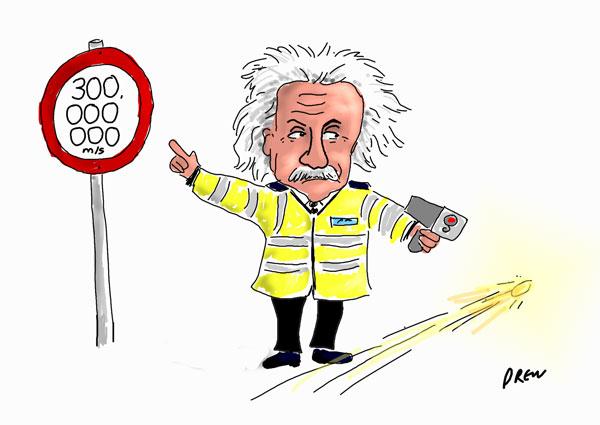 Чему равна скорость света в вакууме?