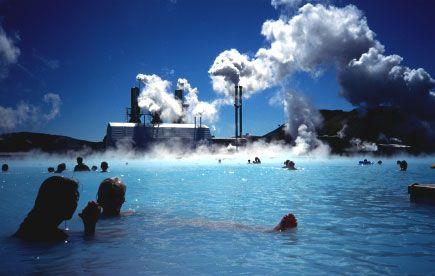 Геотермальную энергию использует