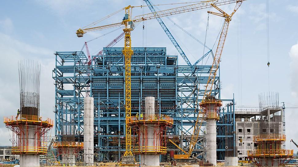 Строительство тепловых электростанций