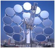 Производства электричества, солнечные электростанции