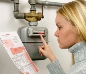 Передать показания счетчиков за газ через интернет