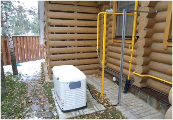 Газовые генераторы для дома на природном газе