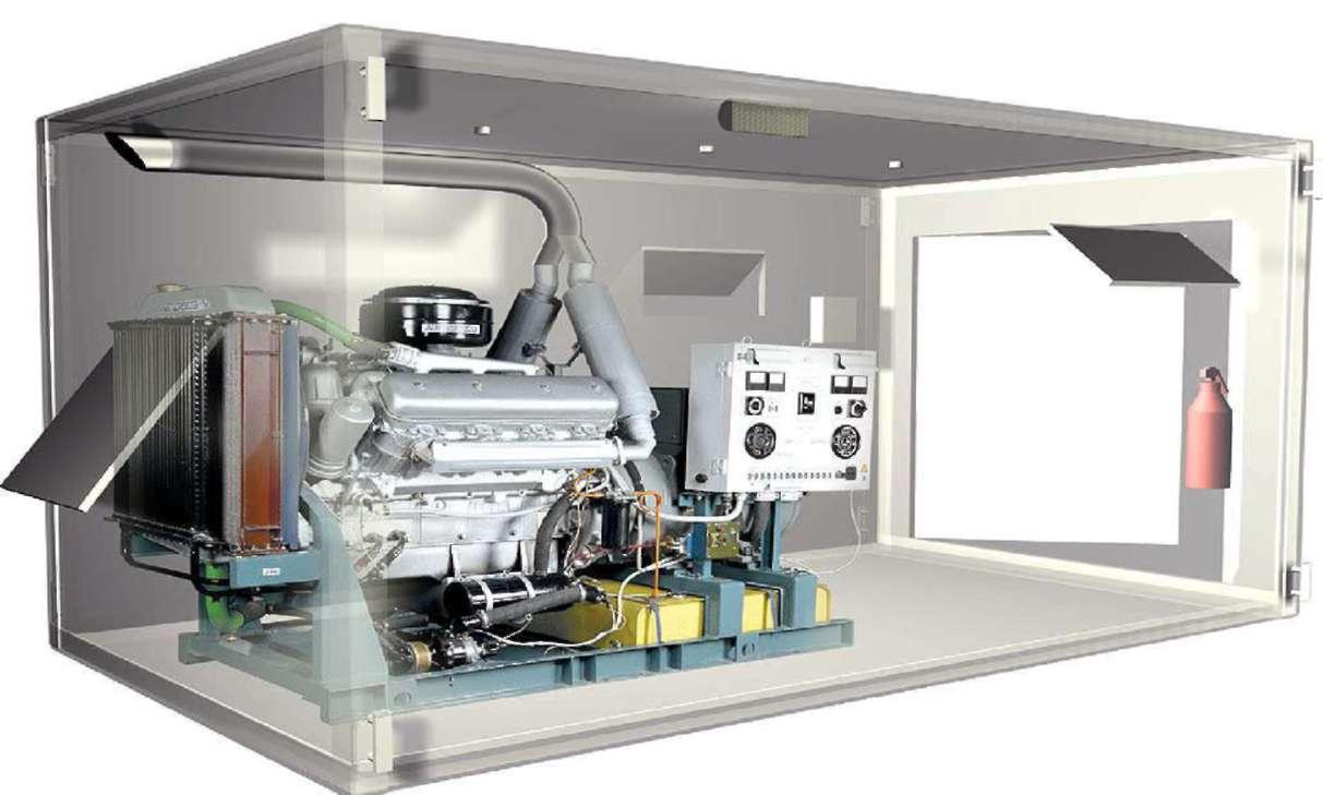 электростанция контейнерного типа