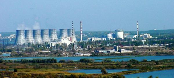 ядерные станции на карте РФ