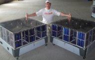 купить переносную мобильную электростанцию на солнечных батареях 50 ватт