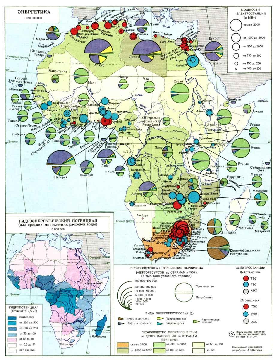 Предприятия энергетической промышленности