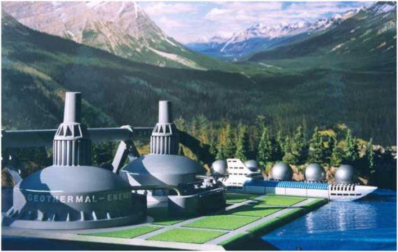 Какие экологические преимущества имеет геотермальная электростанция?