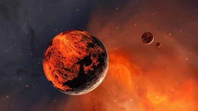 радиус планеты Марс земля