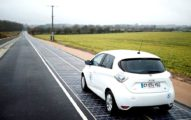 Первый вмире автобан изсолнечных батарей построен воФранции