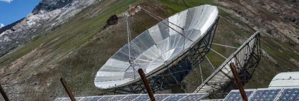 Солнечные панели в Альпы